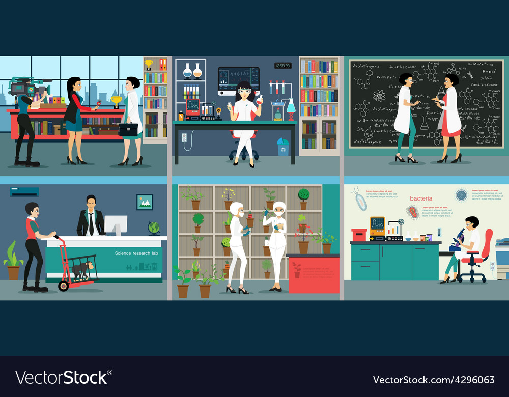 Science lab vector   Price: 1 Credit (USD $1)