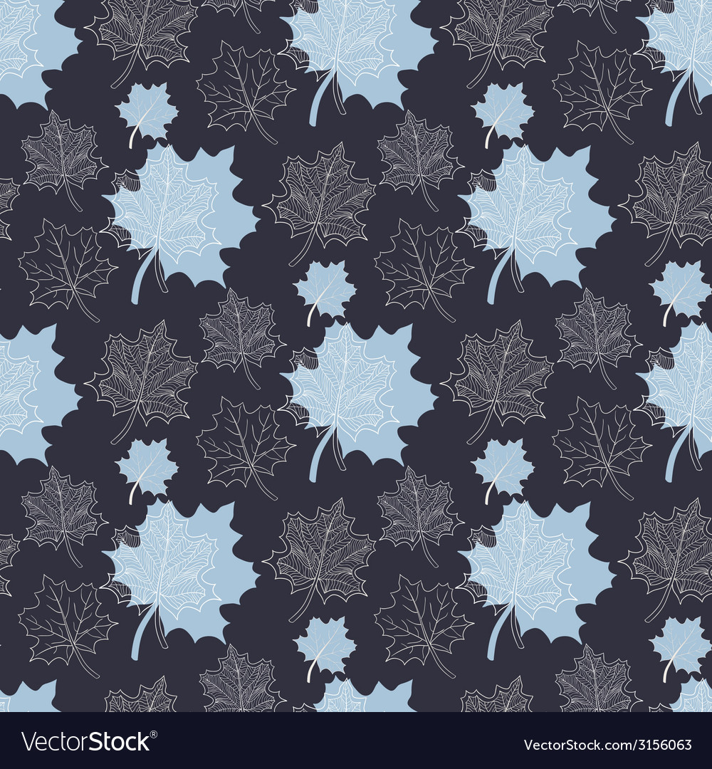 Seamless autumn pattern vector | Price: 1 Credit (USD $1)