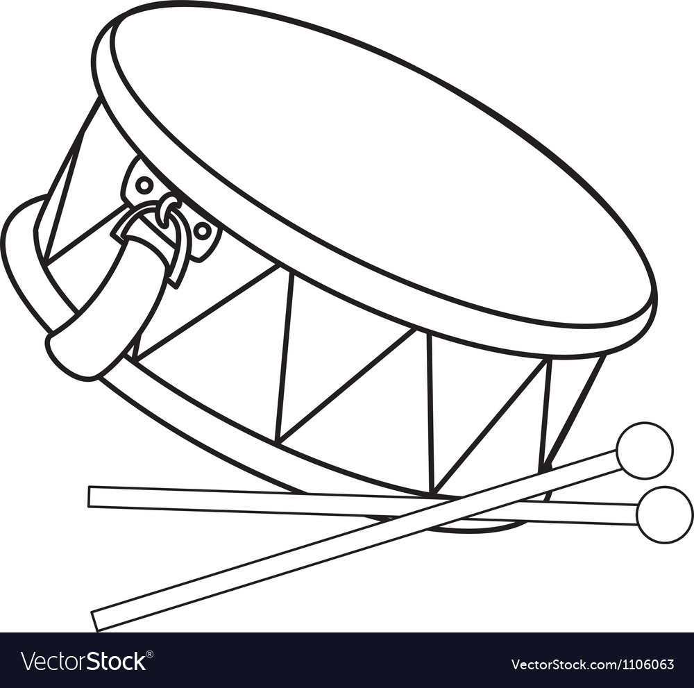 Toy drum vector | Price: 1 Credit (USD $1)