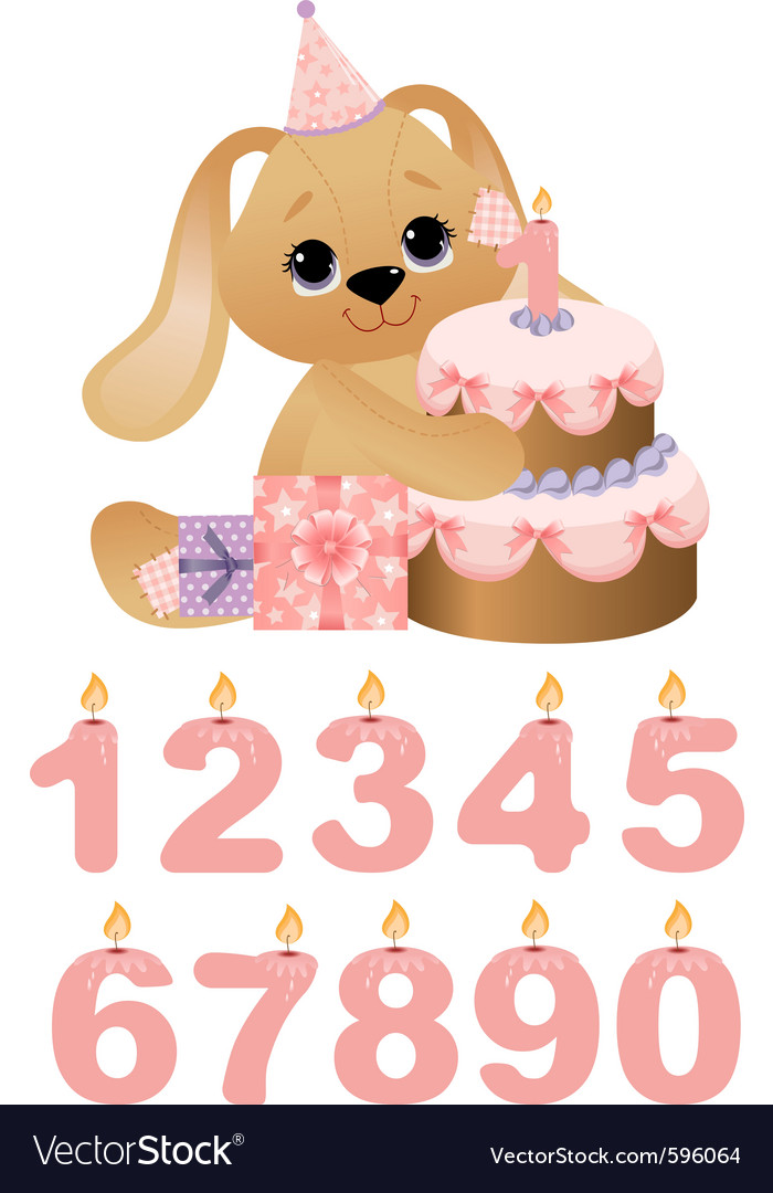 Birthday cake vector | Price: 3 Credit (USD $3)