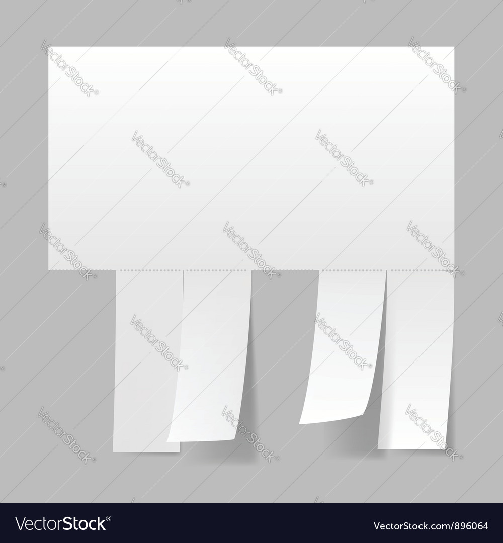 Blank advertisement vector | Price: 1 Credit (USD $1)
