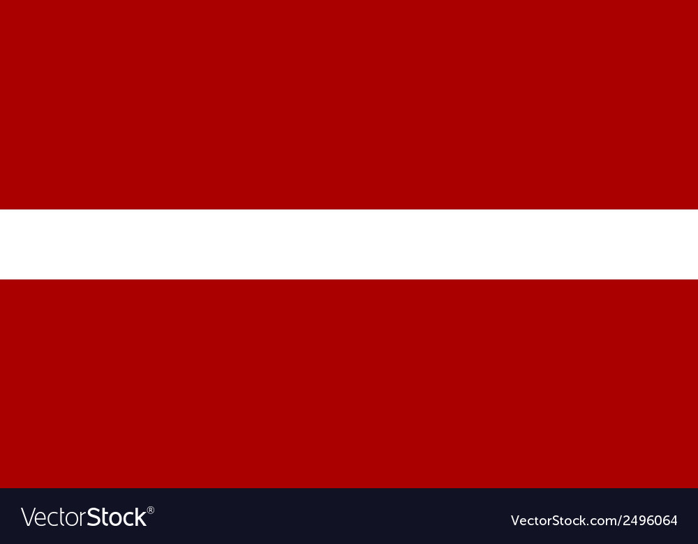 Flag of latvian vector | Price: 1 Credit (USD $1)