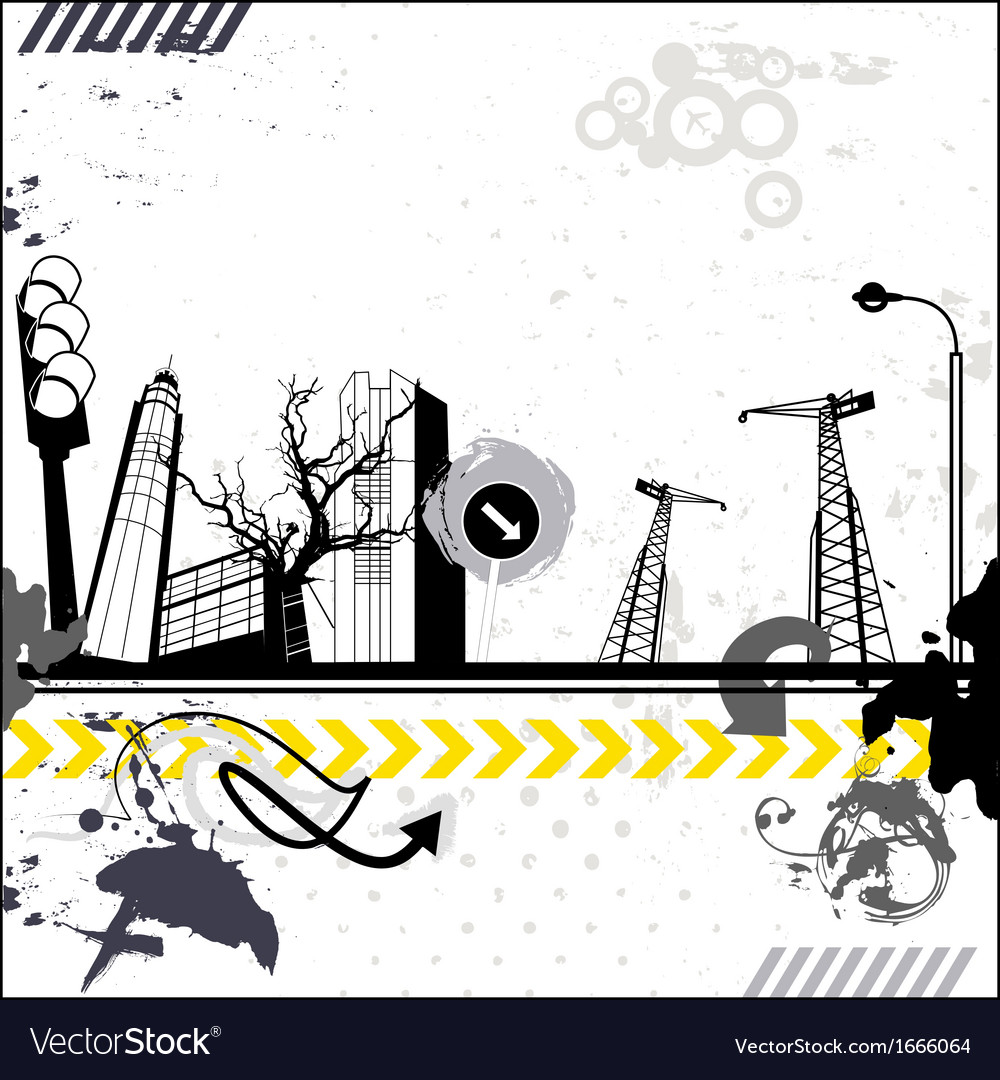 Grunge urban card vector | Price: 1 Credit (USD $1)