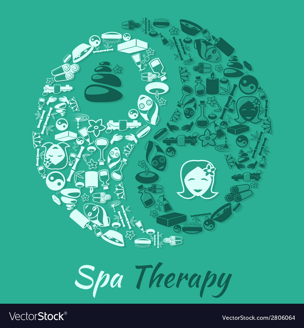 Spa therapy concept vector | Price: 1 Credit (USD $1)