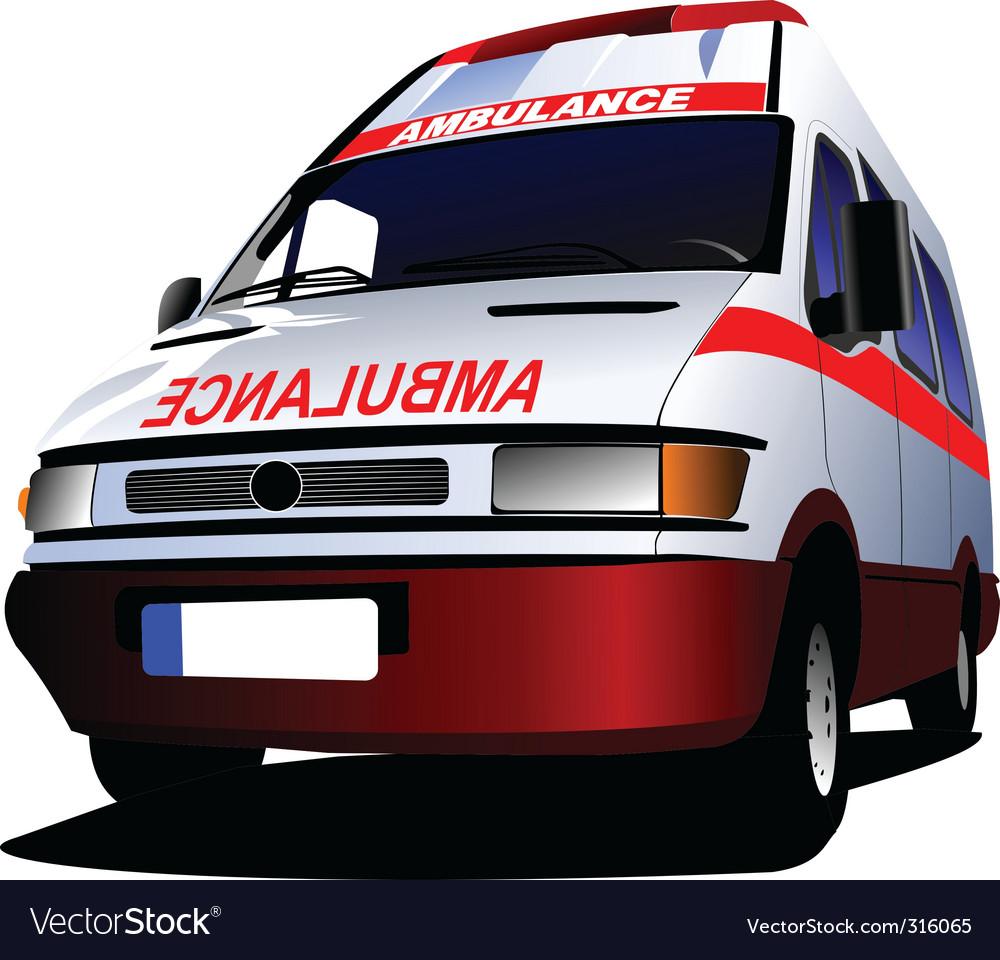 Ambulance vector | Price: 3 Credit (USD $3)
