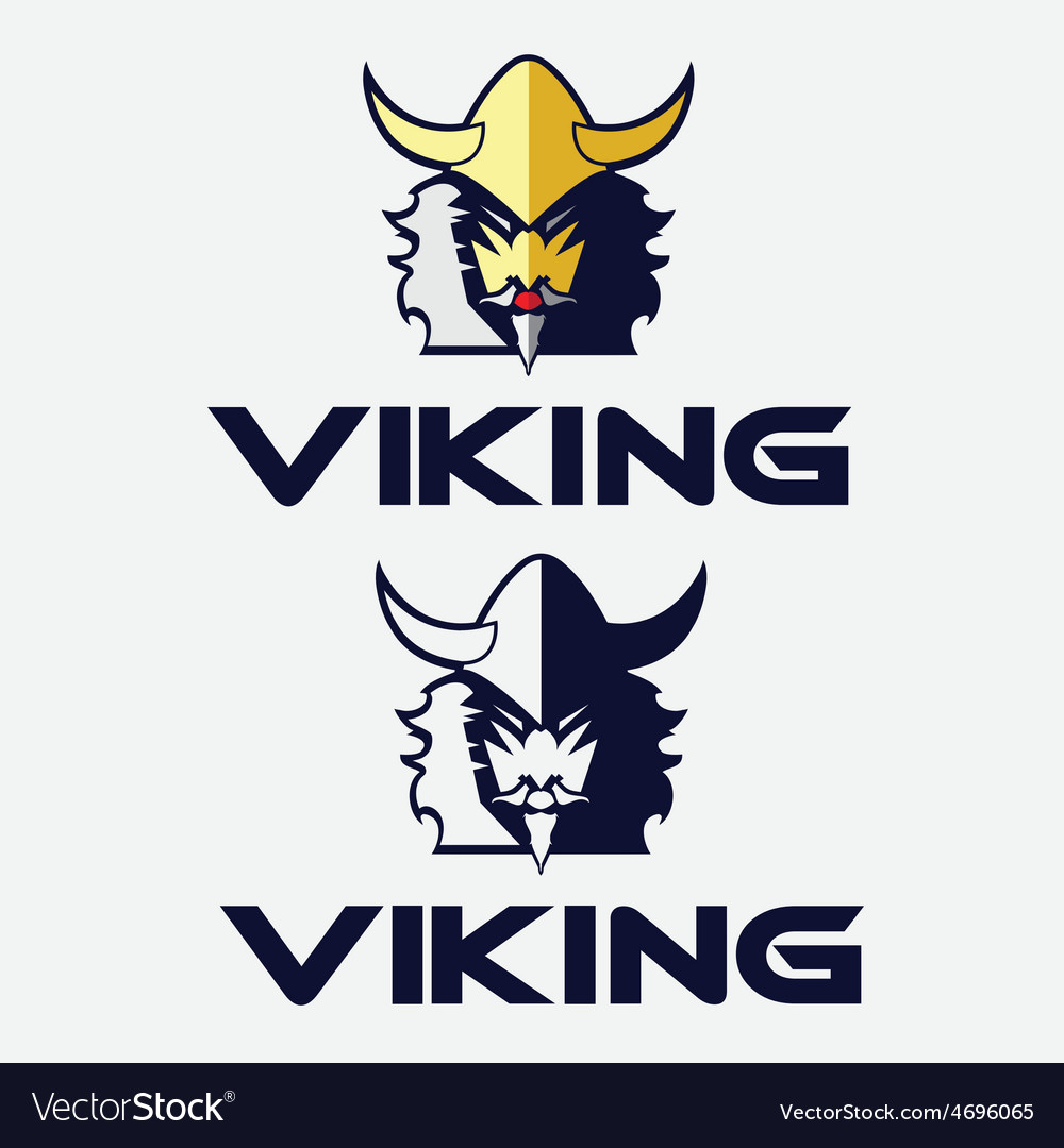 Viking face vector | Price: 1 Credit (USD $1)