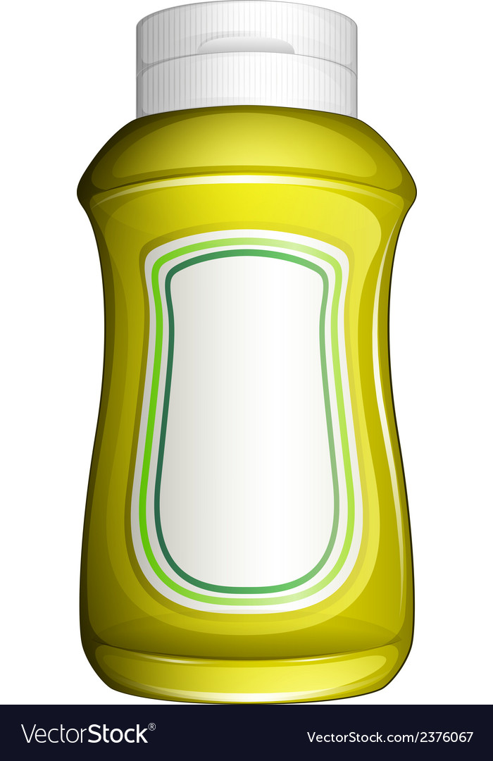 A yellow bottle vector | Price: 1 Credit (USD $1)
