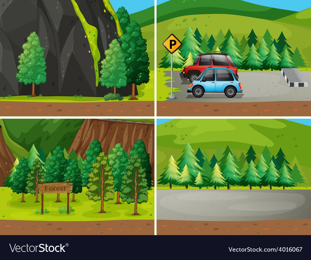 Forests vector   Price: 1 Credit (USD $1)