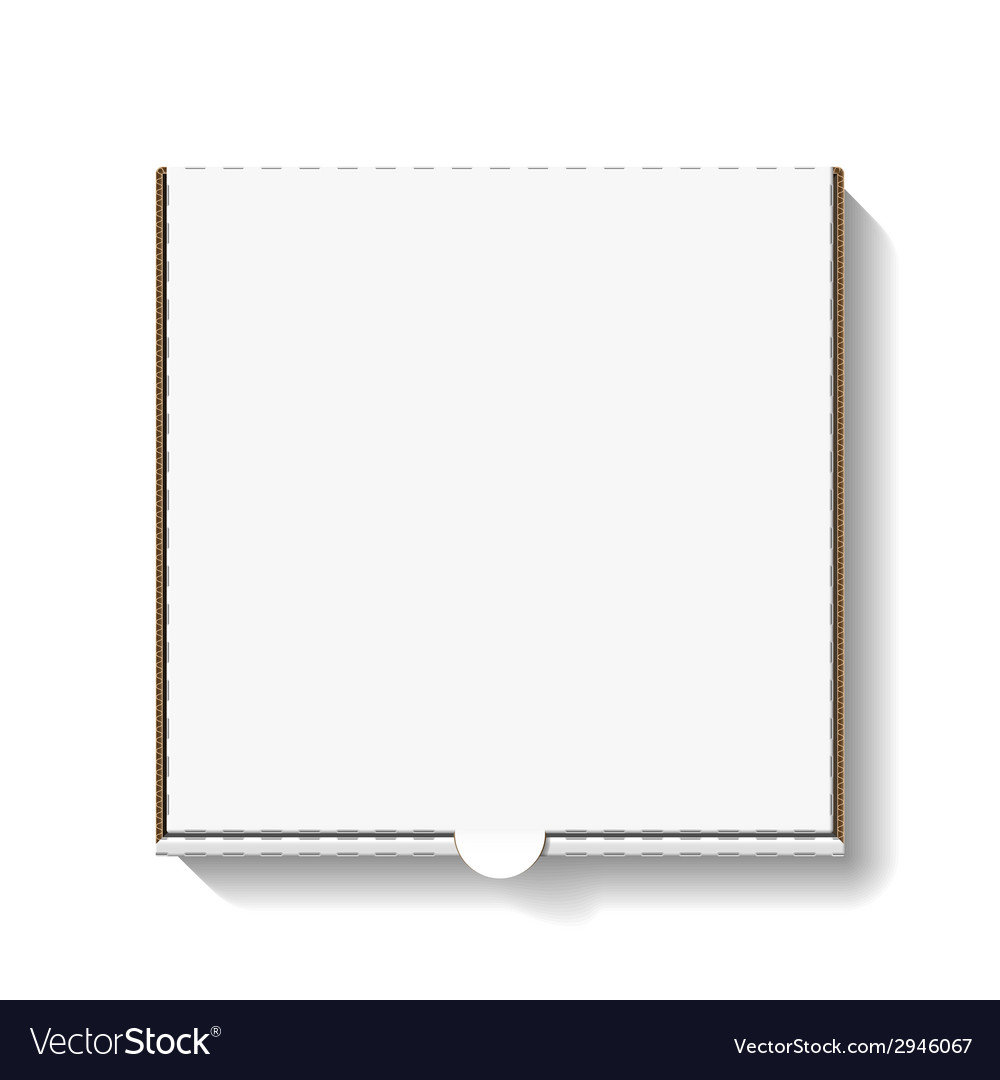 Pizza box vector