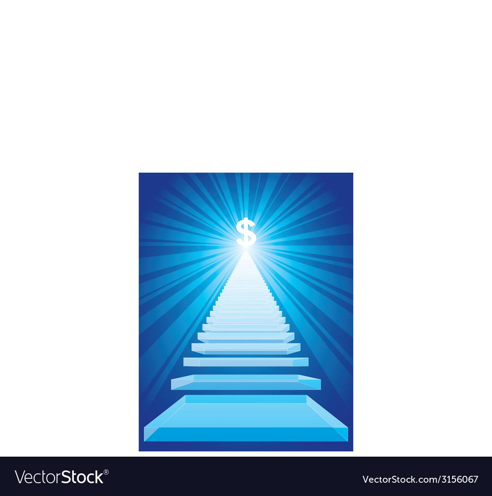 Stairway to the success vector | Price: 1 Credit (USD $1)