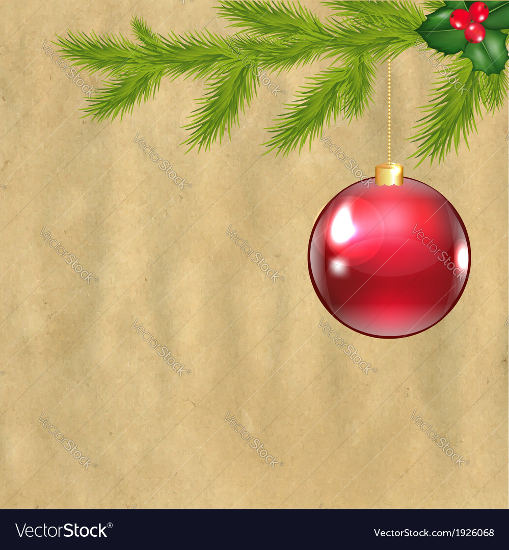 Christmas vintage composition vector   Price: 1 Credit (USD $1)