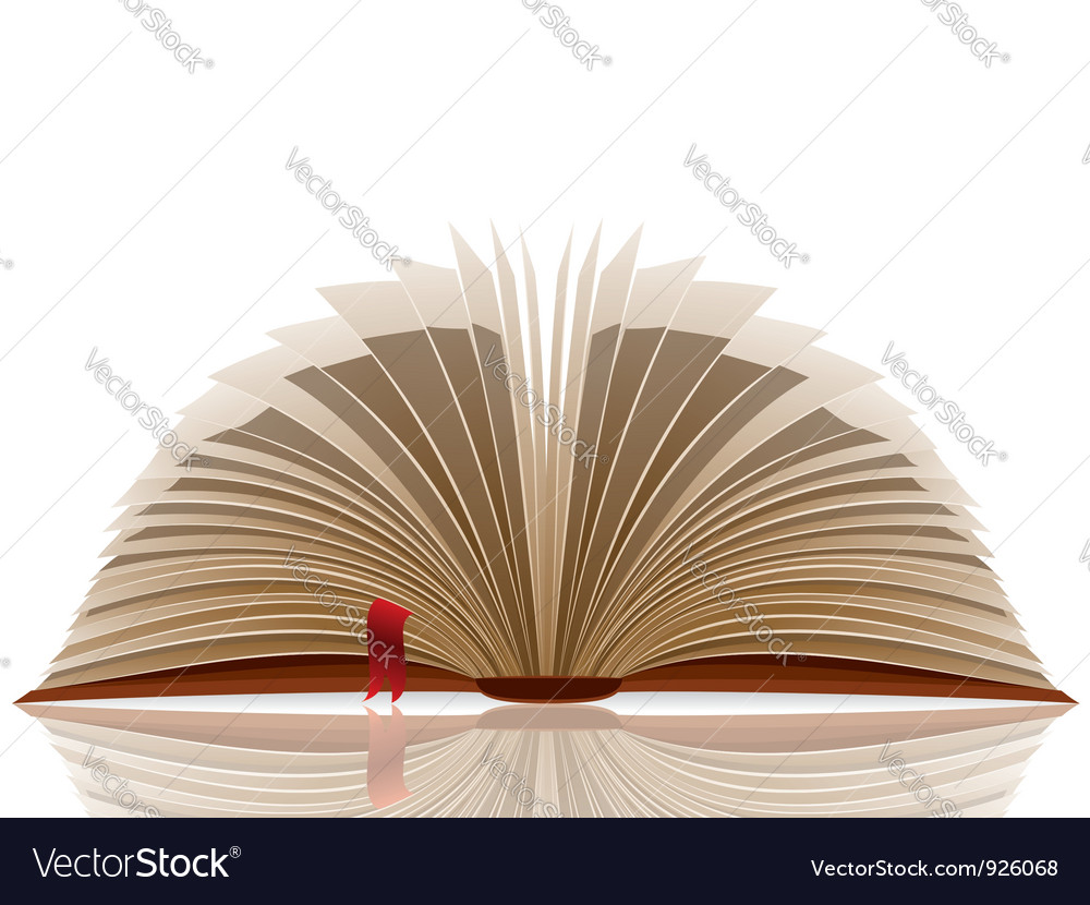 Opened book vector | Price: 3 Credit (USD $3)