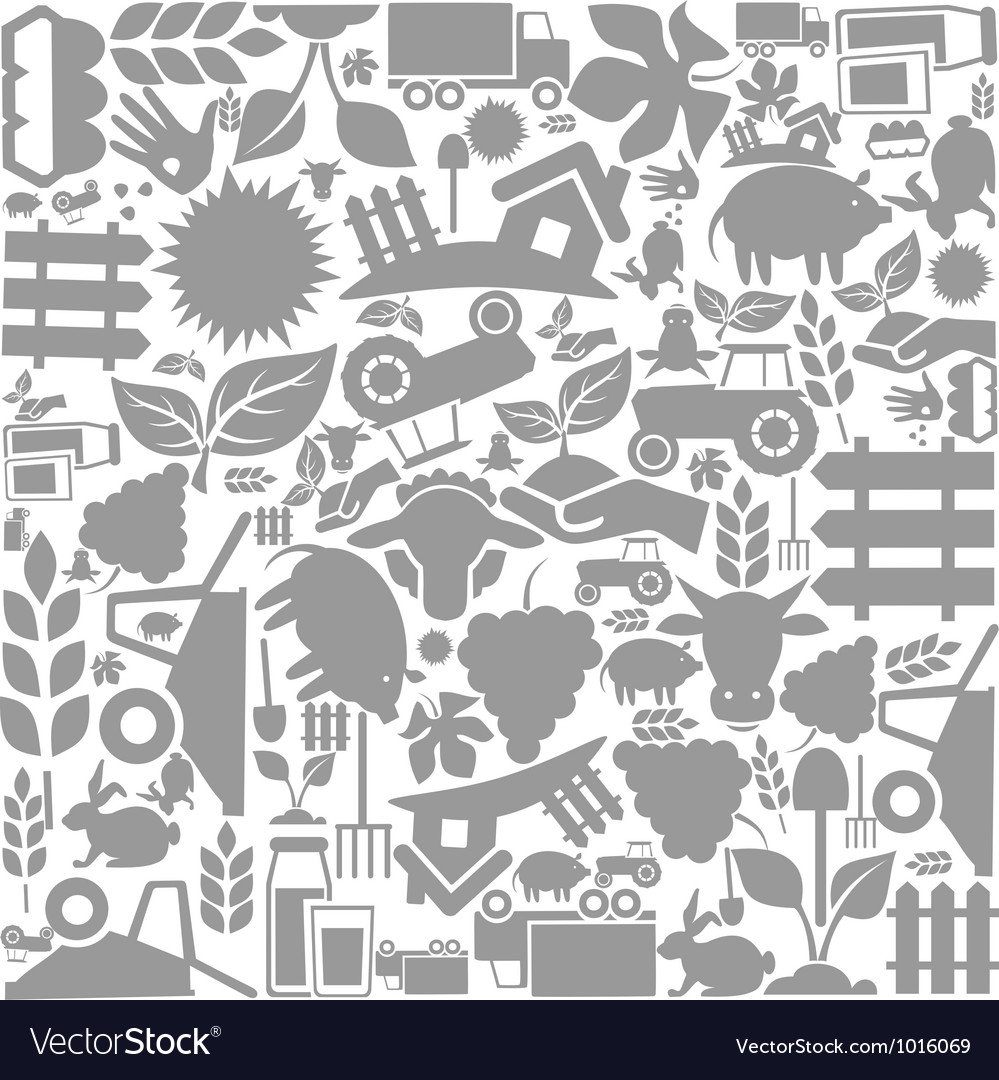 Background agriculture vector | Price: 1 Credit (USD $1)