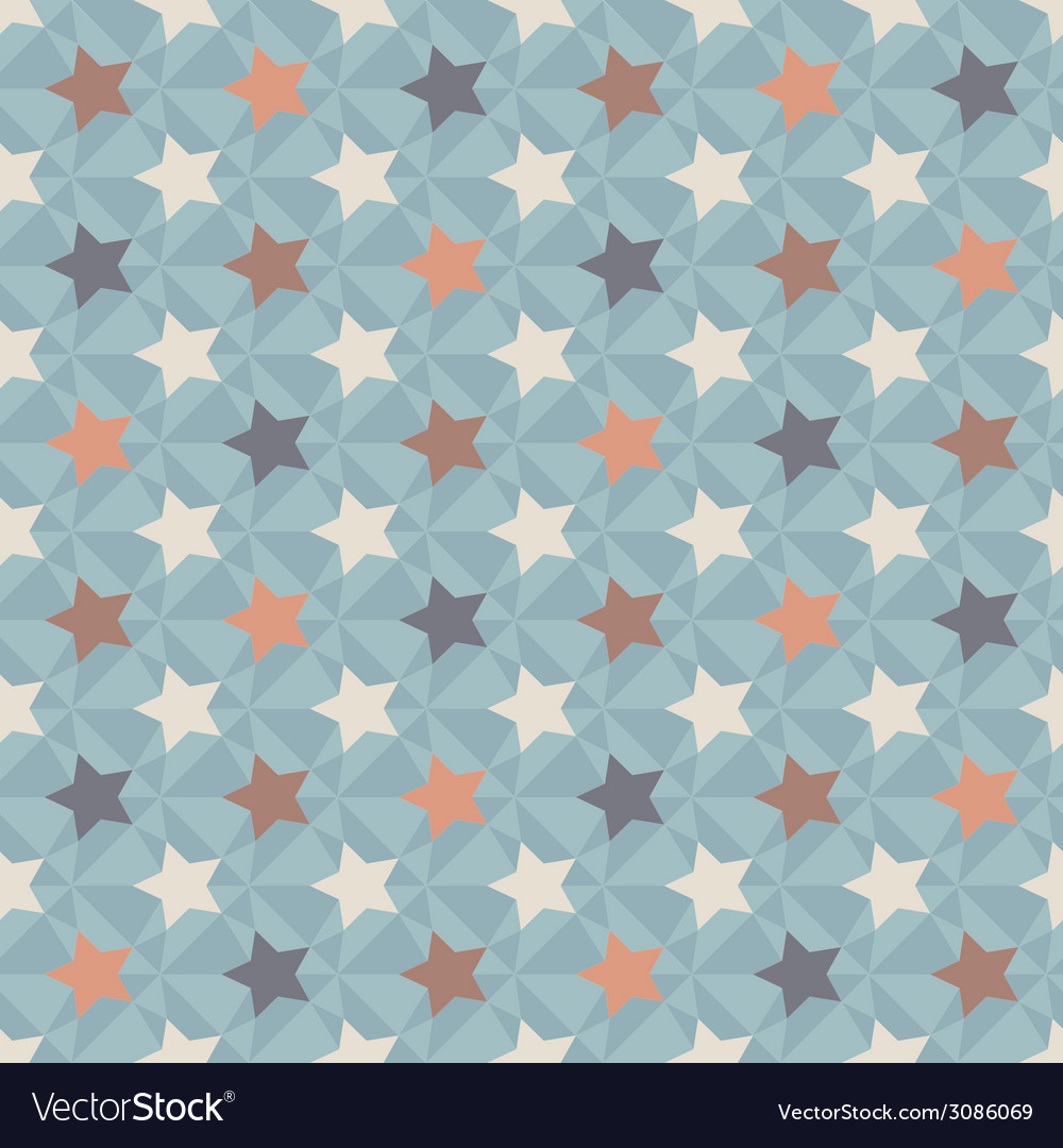 Geometric retro pattern vector | Price: 1 Credit (USD $1)