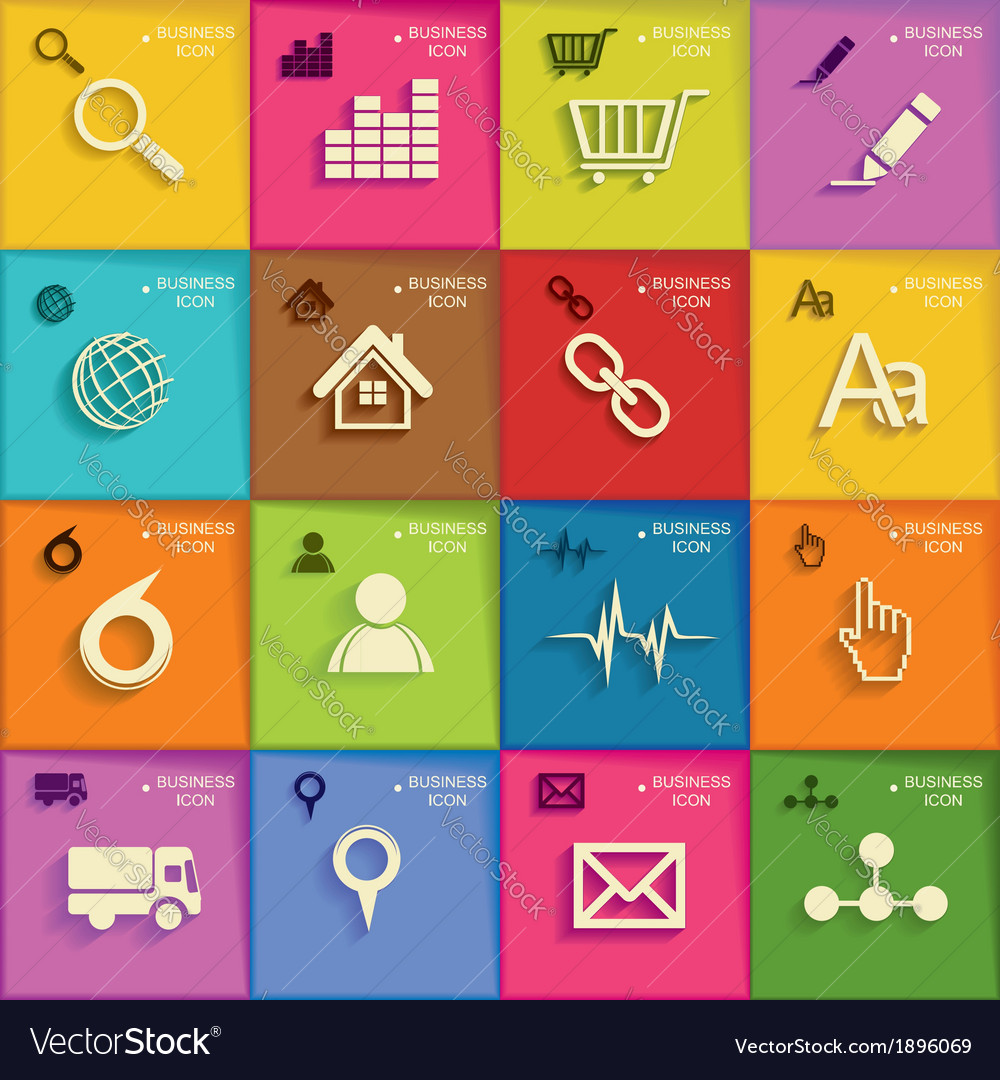 Modern infographic or webdesign symbols vector | Price: 1 Credit (USD $1)