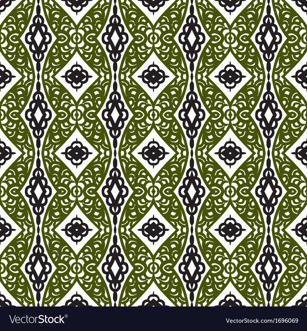 Pattern with eastern ornament vector   Price: 1 Credit (USD $1)