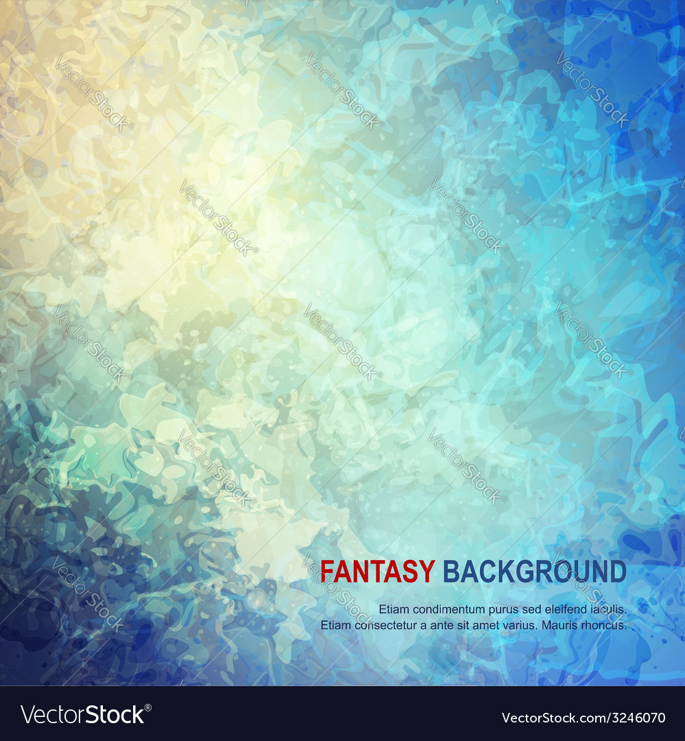 Fantasy abstract background vector | Price: 1 Credit (USD $1)