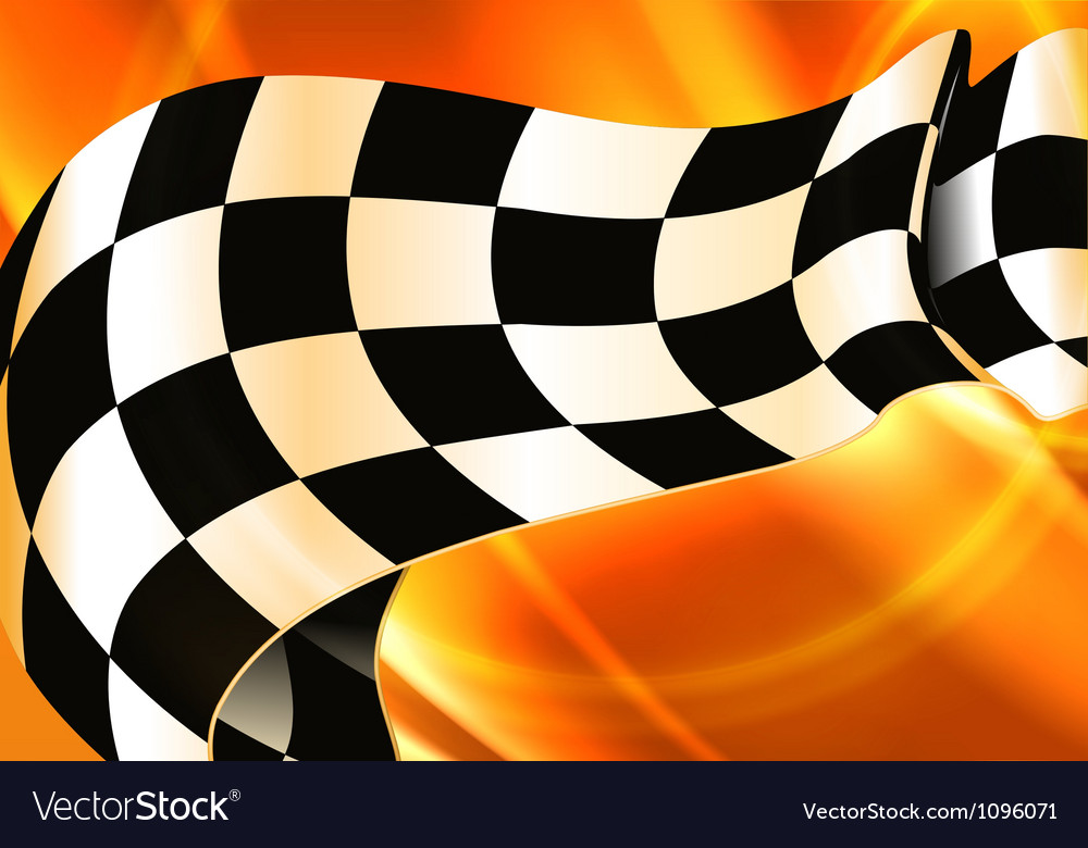 Background horizontal checkered vector | Price: 1 Credit (USD $1)