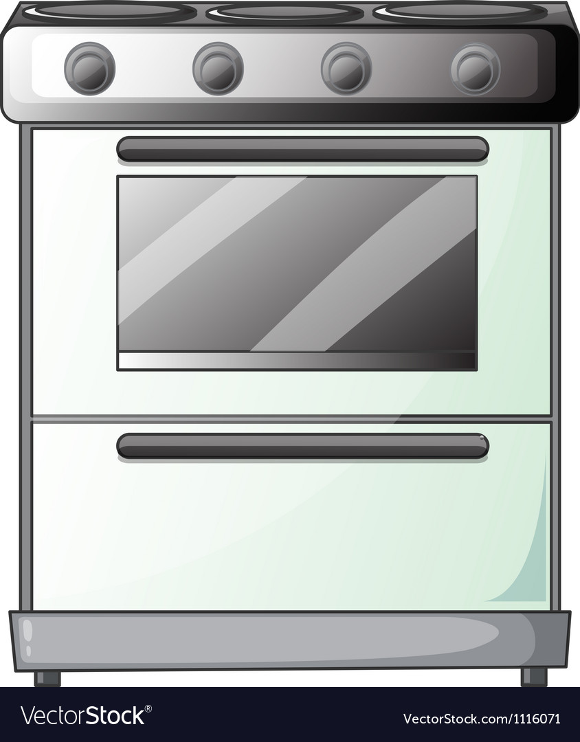 Gas stove vector | Price: 1 Credit (USD $1)
