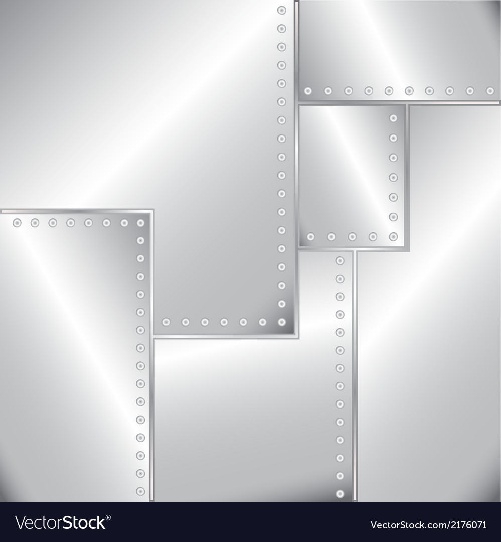 Old riveted sheet metal vector | Price: 1 Credit (USD $1)