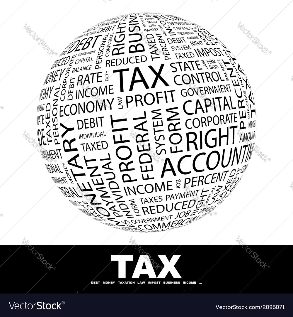 Tax vector | Price: 1 Credit (USD $1)