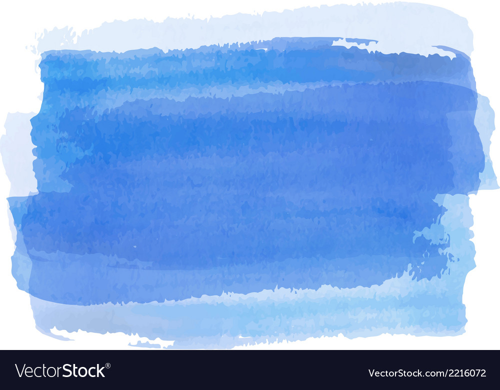 Blue watercolor background banner for your design vector | Price: 1 Credit (USD $1)