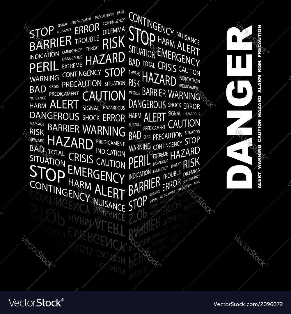 Danger vector | Price: 1 Credit (USD $1)