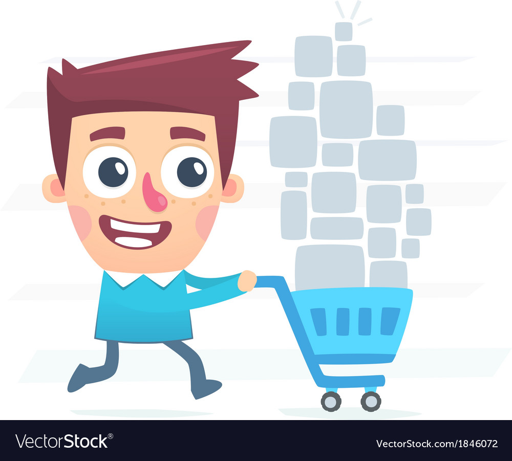 Great shopping vector | Price: 1 Credit (USD $1)