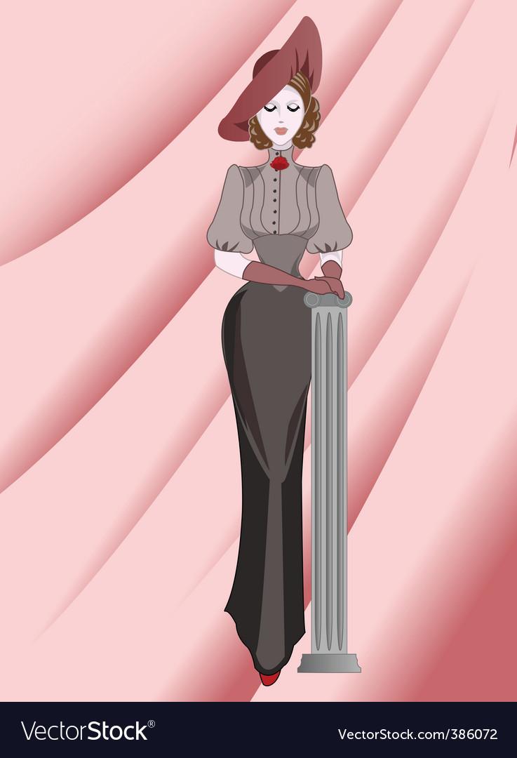 Lady vector | Price: 3 Credit (USD $3)