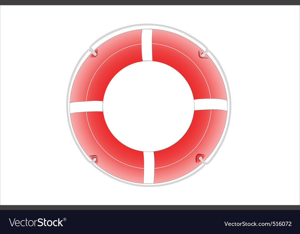 Life buoy vector | Price: 1 Credit (USD $1)