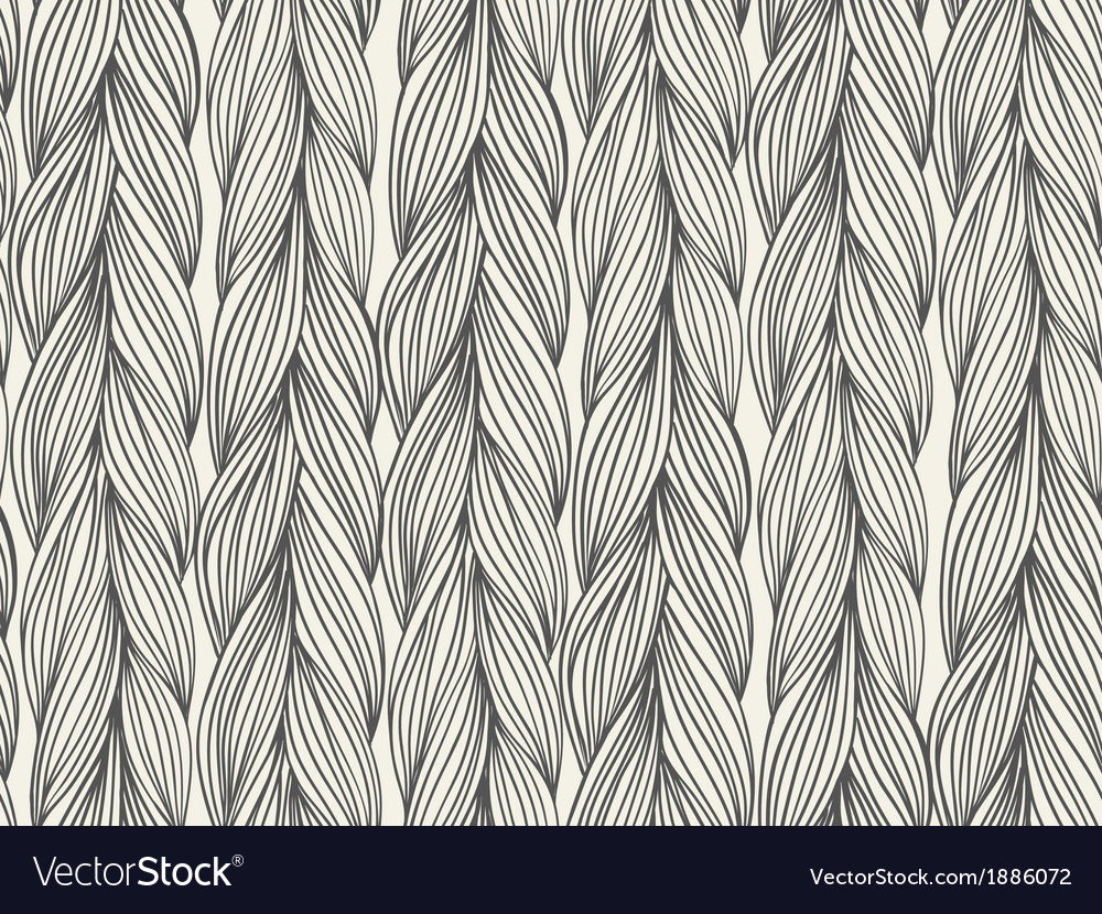 Seamless pattern imitation with braids vector | Price: 1 Credit (USD $1)