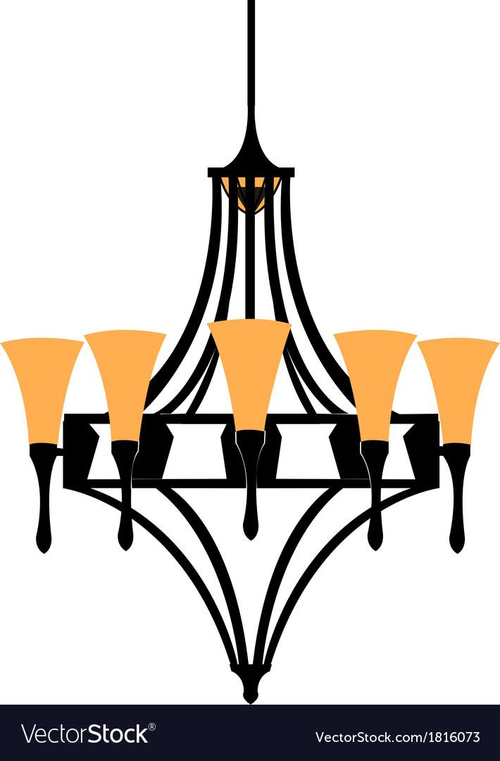 Chandelier vector | Price: 1 Credit (USD $1)