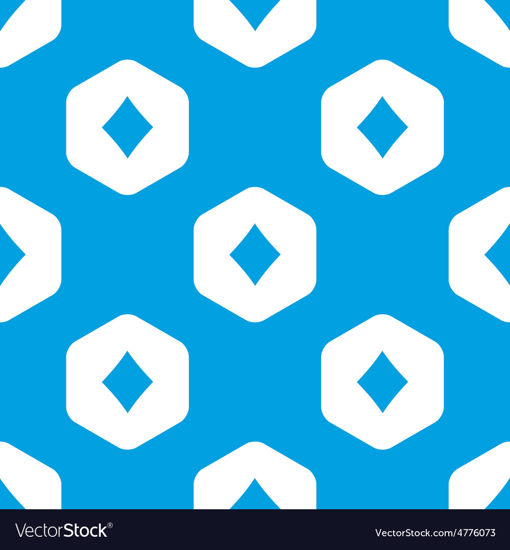 Diamonds hexagon pattern vector | Price: 1 Credit (USD $1)