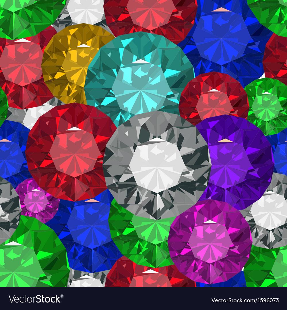 Jewels tecstureseamles vector | Price: 1 Credit (USD $1)