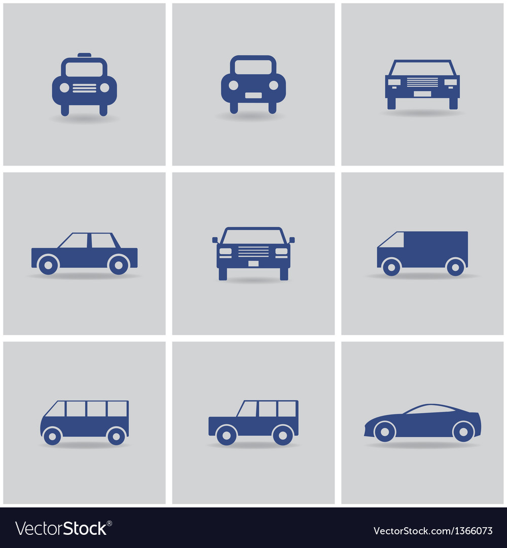 Set of icon cars vector   Price: 1 Credit (USD $1)