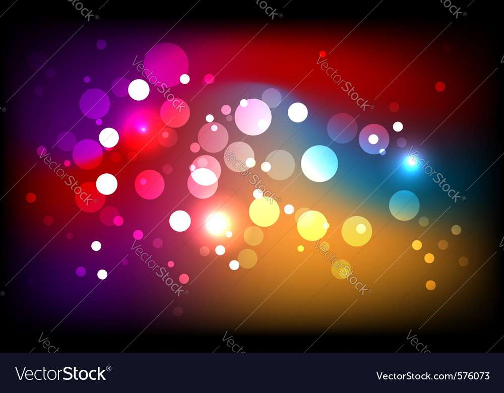 Sparkling colorful background vector | Price: 1 Credit (USD $1)