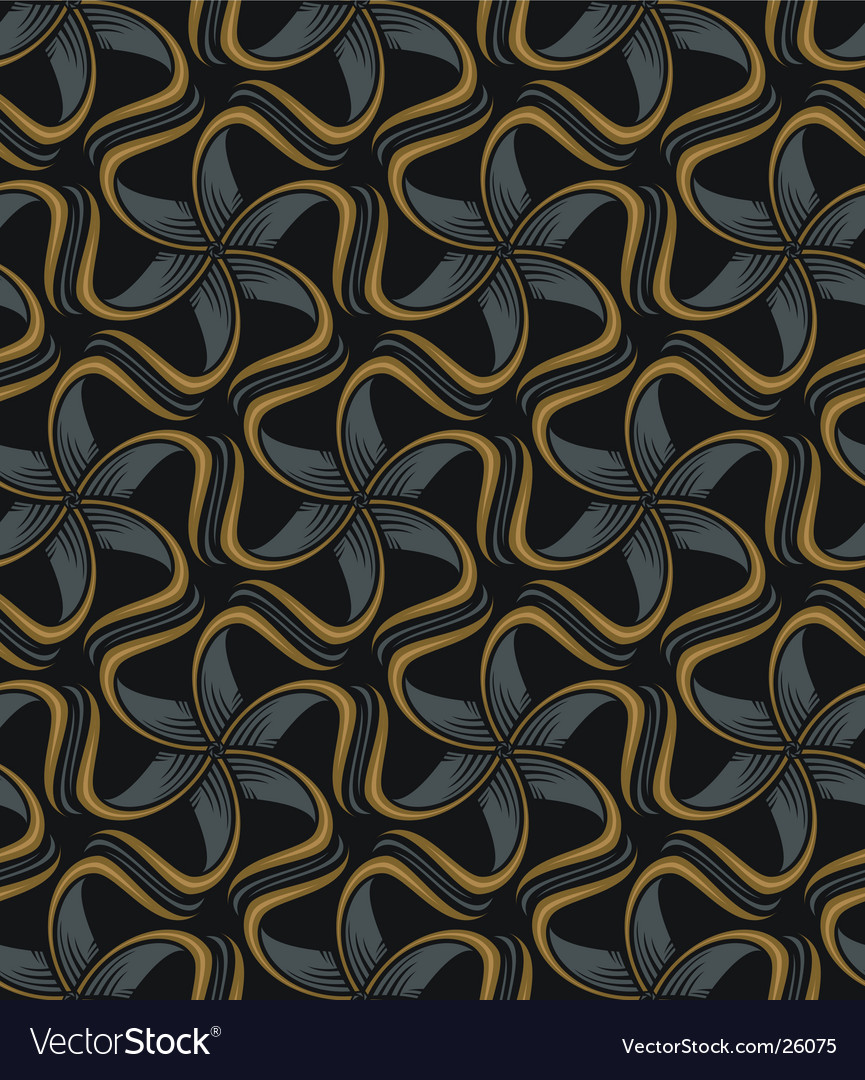 Abstract floral pattern vector | Price: 1 Credit (USD $1)