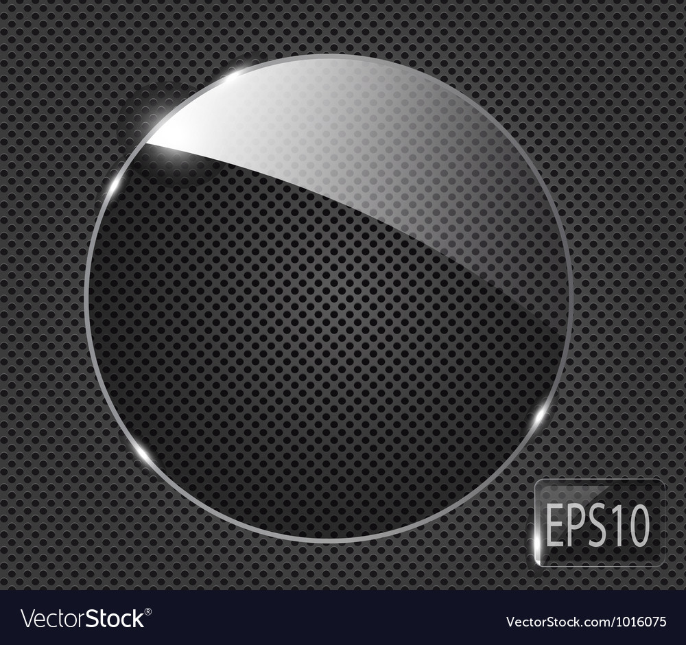 Abstract metal background with glass framework vector | Price: 1 Credit (USD $1)