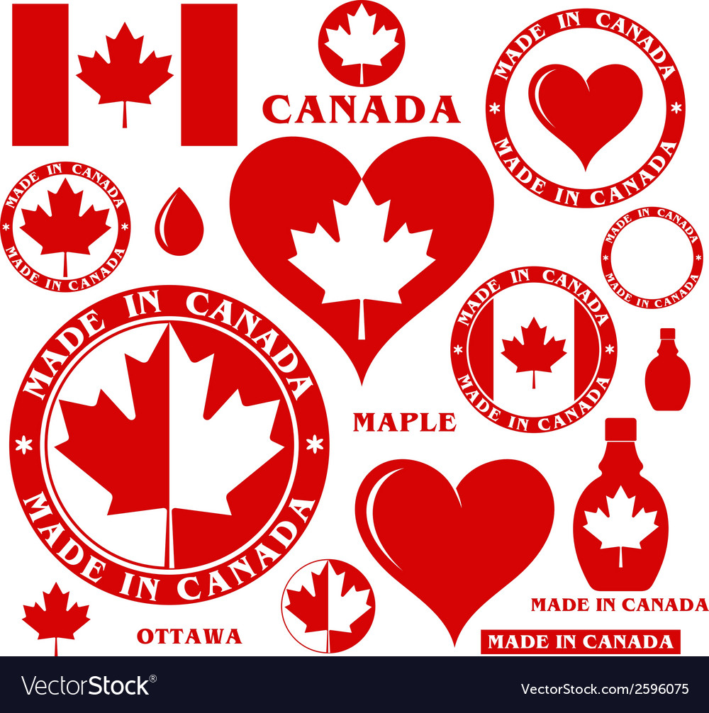 Canada vector | Price: 1 Credit (USD $1)