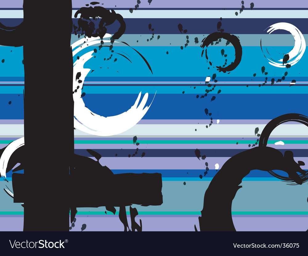 Muted rainbow blue vector | Price: 1 Credit (USD $1)