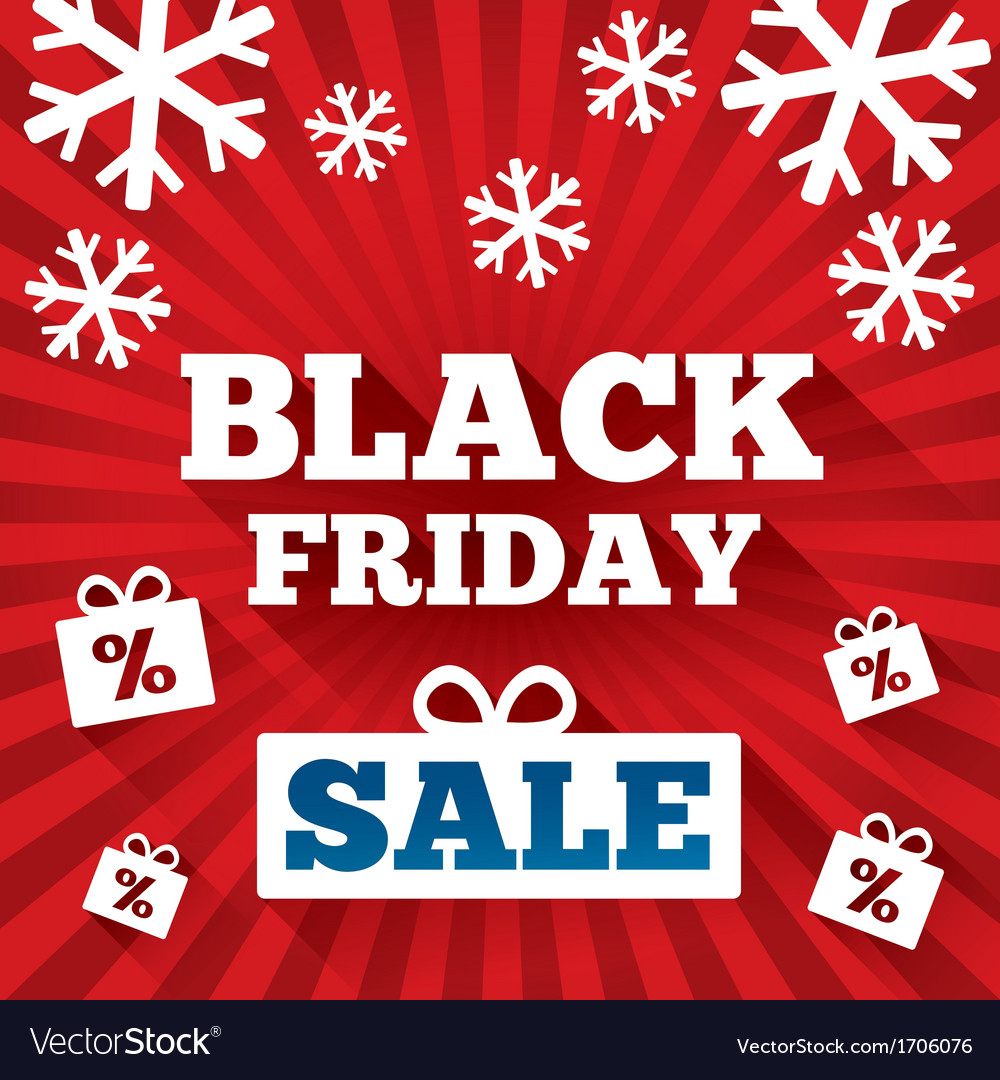 Black friday sale background christmas background vector | Price: 1 Credit (USD $1)