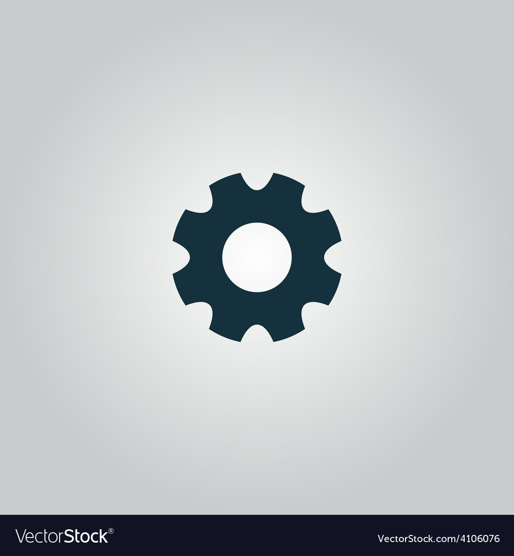 Machine gear icon vector | Price: 1 Credit (USD $1)