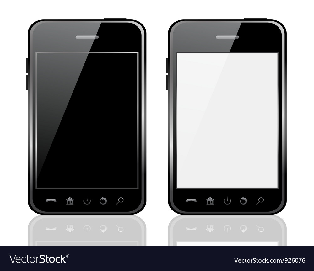 Mobile phone vector | Price: 3 Credit (USD $3)