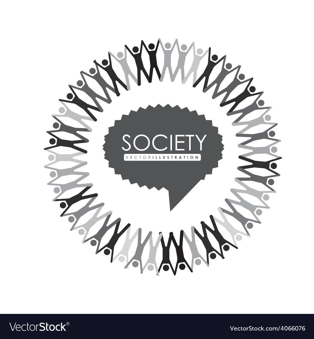 Society design vector   Price: 1 Credit (USD $1)