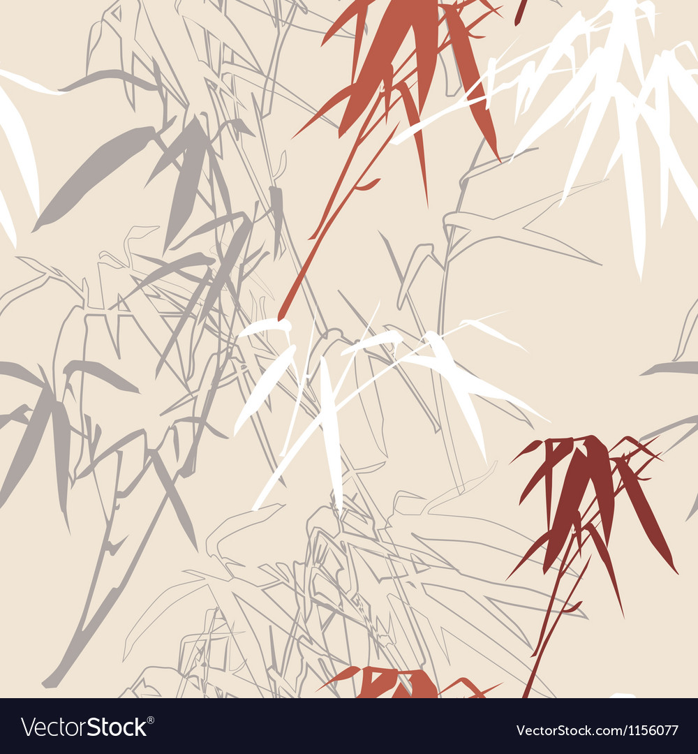 Bamboo seamless texture vector | Price: 1 Credit (USD $1)