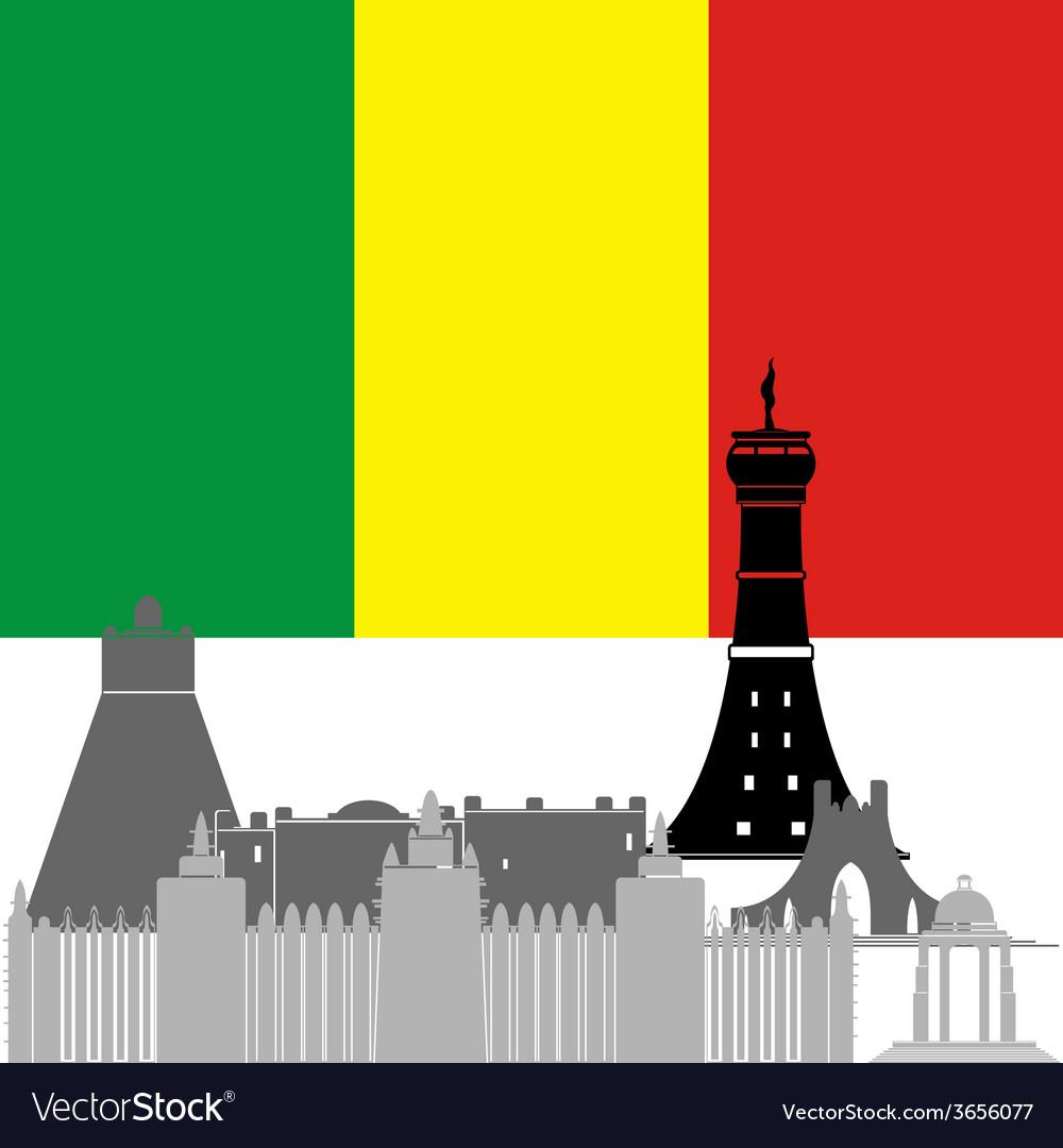 Mali vector | Price: 1 Credit (USD $1)