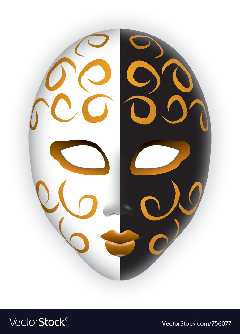 Venice mask vector | Price: 1 Credit (USD $1)
