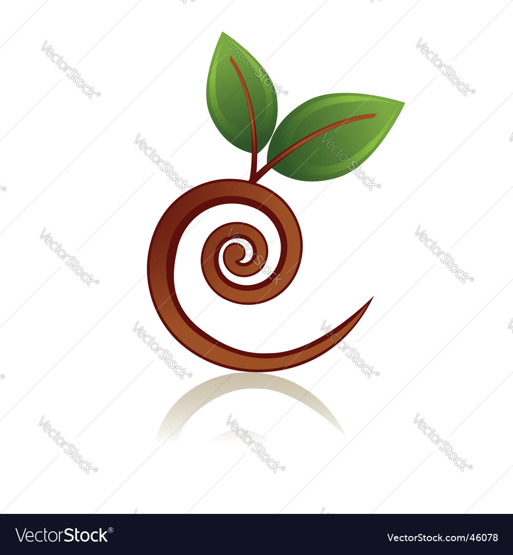 Curve branch icon vector | Price: 1 Credit (USD $1)