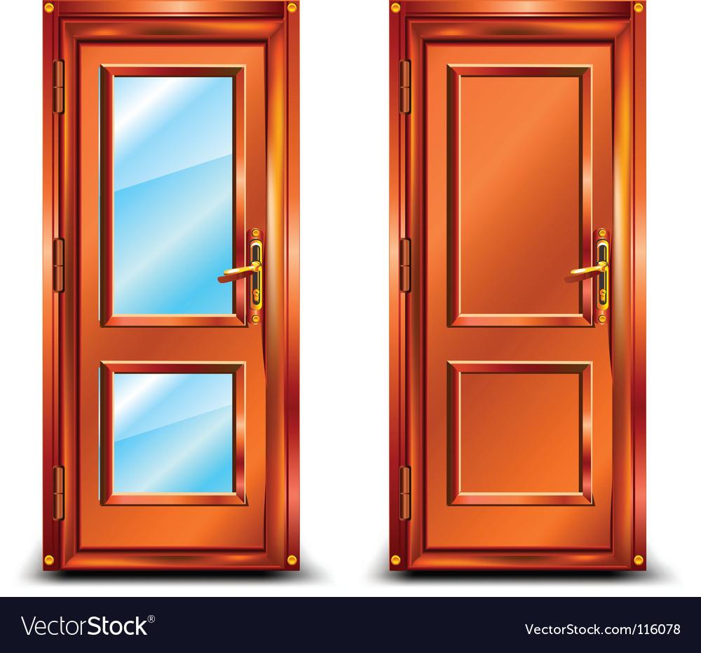 Door closed vector | Price: 1 Credit (USD $1)