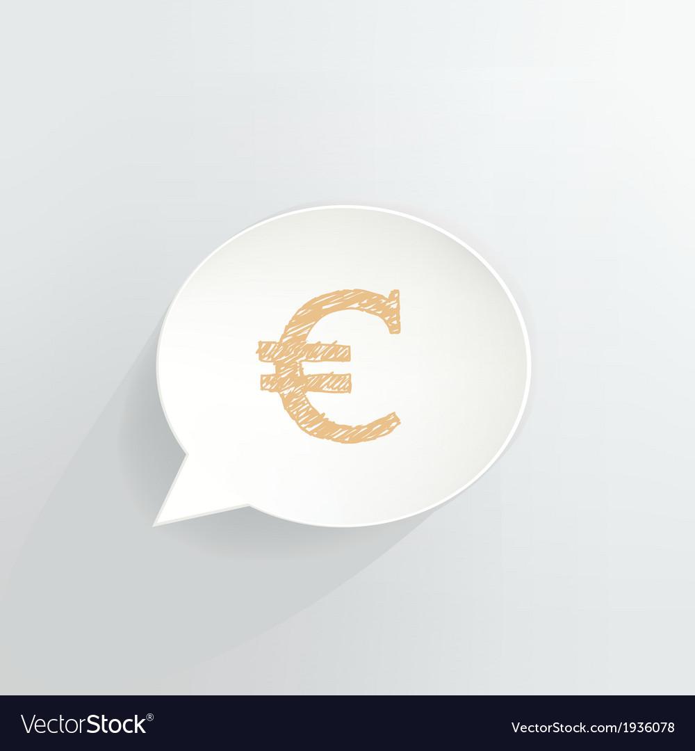 Euro vector | Price: 1 Credit (USD $1)